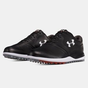 Under Armour UA SL Leather Spikeless Golf Shoes 10